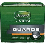 Depend ® Guards for Men Incontinence Pads 12