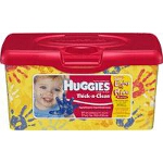 Huggies Thick & Clean Fragrance Free Wipes for Skin Care - PK of 64 EA