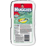 Huggies Natural Care � Baby Wipes for Skin Care Travel Pack Unscented, Aloe and Vitamin E, Re-sealable Refills and Travel Packs. - PK of 16 EA
