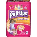 Pull-Ups Training Pants Pull Ons for Girls with Learning Design 3T/4T - PK of 23 EA