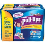 Pull-Ups Boys Training Pants Pull Ons, 2T/3T, Big Pack - PK of 56 EA