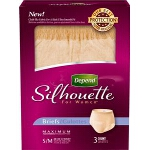 Silhouette Briefs, Discreet Pull Ons for Women, Small/Medium, 28