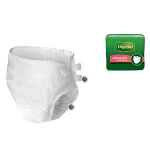 "Depend Protection Fitted Briefs, Diapers with Tabs, Small/Medium fits 19"" - 34"" - PK of 20 EA"