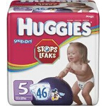 Huggies ® Snug and Dry Diapers for Kids Size 5 - BG of 46 EA