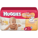 Huggies ® Supreme Diapers for Kids Size 2, 12 to 18 lb - BG of 60 EA