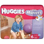 Huggies Supreme ® Natural Fit Step 6 Mega, Comfortable, Hugflex - BG of 34 EA