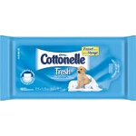 Kleenex Cottonelle Flushable Wipes for Skin Care, 48 to 10's, Premoistened, Cottony-soft, Flushable and Safe - CA of 480 EA