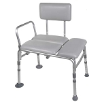 Knock Down Padded Transfer Bench - CA of 1 EA