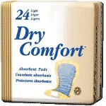TENA ® Dry Comfort Light Absorbency Incontinence Pads for Adults 10
