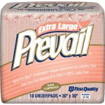 PrevailNight Time Disposable Underpads & Bed Pads 30