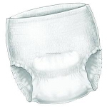 Kendall SureCare Belted Undergarment for Incontinence, Super Absorbency, Unisex - Qty: BG of 30 EA