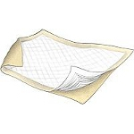 "Kendall Wings Maxima ® Incontinence Underpad, Bed Pad 30"" x 30"", Fluff/Polymer, Polypropylene Back sheet - Qty: BG of 10 EA"