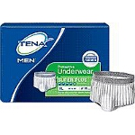 TENA ® Super Plus Absorbency Men's Protective Underwear, Pull Up Diapers 44