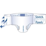 Compaire Bariatric Breathable Adult Briefs, Diapers with Stretchable Side Panels XXX-Large 62