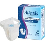 Attends ® Belted Undergarments for Incontinence, Fits up to 54