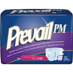 Prevail PM Briefs, Adult Diapers Medium Fits 32