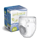 Embrace Super-absorbency Briefs, Diapers Large, 45