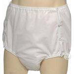 CareFor One Piece Pull-on Briefs, Adult Diapers with Water-proof Safety Pocket Extra-Large 46