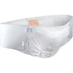 "Tranquility Hi-Rise Bariatric Disposable Brief, 64"" to 96"" Waist/Hip, 34Oz Fluid Capacity - Qty: BG of 8 EA"