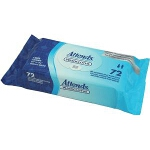 Attends ® Washcloths, Personal Care Wipes, 8.7