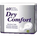 TENA ® Dry Comfort Heavy Absorbency Day Pads for Adult Incontinence 16