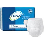 TENA ® Extra Absorbency Protective Underwear, Pull Up Diapers Extra-large, Sterile, Latex-free - Qty: PK of 12 EA
