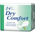 TENA ® Dry Comfort Bladder Control Night Pads for Adult Incontinence, Green, Latex-free - Qty: BG of 24 EA