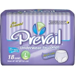 Prevail Classic Fit For Adult Diapers, Briefs for Women, Large 44