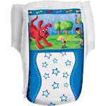 Curity Runarounds Boy Pull-Up Training Pants Medium, 2T-3T, Under 34lb, Stretchy Sides and Waistbands - Qty: BG of 26 EA