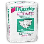 Dignity ® Beltless Undergarment for Incontinence 13-1/2
