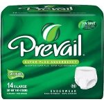 Prevail Super Plus Pull On Diapers and Pull Up Underwear X-Large 58