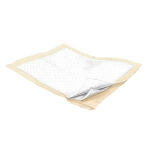 "Kendall Wings Maxima ® Underpad, Bed Pad 23"" x 36"", Fluff/Polymer, Polypropylene Beige Back sheet, Super Absorbency - Qty: BG of 24 EA"