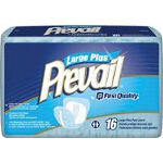 Prevail ® Pant Liner Pads Elastic Large Plus 13