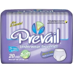 Prevail ® Classic Fit Adult Diapers, Briefs For Women Small/Medium 34