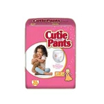 Cuties Training Pants Pull Ups for Girls 2T-3T, up to 34 lbs - Qty: PK of 26 EA