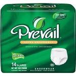 Prevail Protective Underwear, Pull Up Adult Diapers X-Large 58