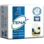 TENA ® Day Plus Pads for Adult Incontinence, Yellow, Latex-free - Qty: PK of 40 EA