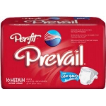 Prevail Per-Fit Adult Briefs, Diapers Medium White 32