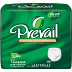 Prevail Protective Underwear, Pull Up Adult Diapers XX-Large 68